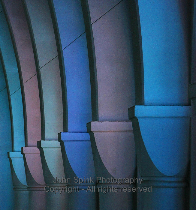 Monastery of the Holy Spirit_Abbey Church Columns_John Spink Photographer